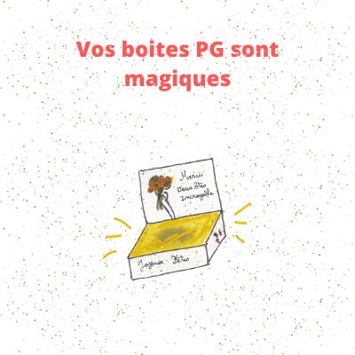 Les boites PG sont magiques
